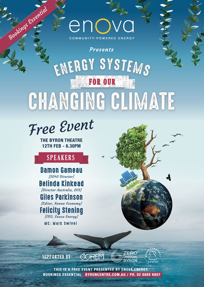 energy systems event poster l