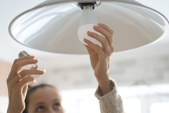 lighting efficiently to save energy